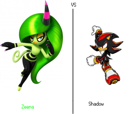 Zeena Vs Shadow